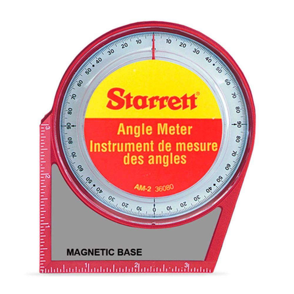 Medidor de Ângulos com Base Magnetica AM-2 - Starrett
