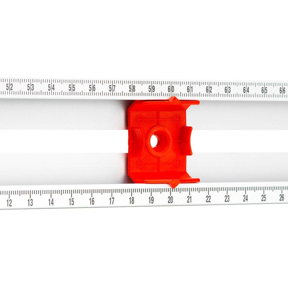 Gabarito de Furação com Nível Mark-It 80cm - Sola
