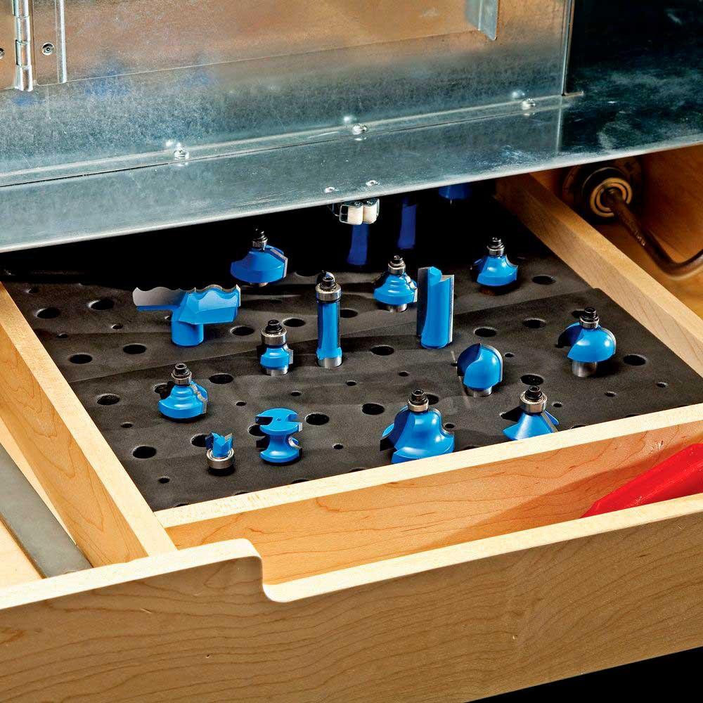Organizador de Fresas (Router Bit Tray) - Rockler