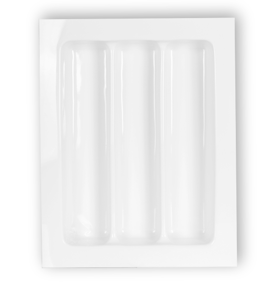 ORGANIZADOR DE TALHERES OG-107  (MÍNIMO: 30,2 X 40,2CM) (MÁXIMO: 36,2 X 46,2CM) - MOLDPLAST