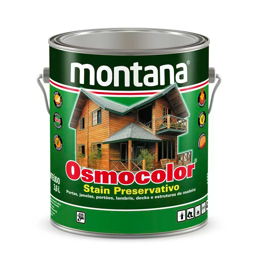 Osmocolor Stein Black 3,6L - Montana