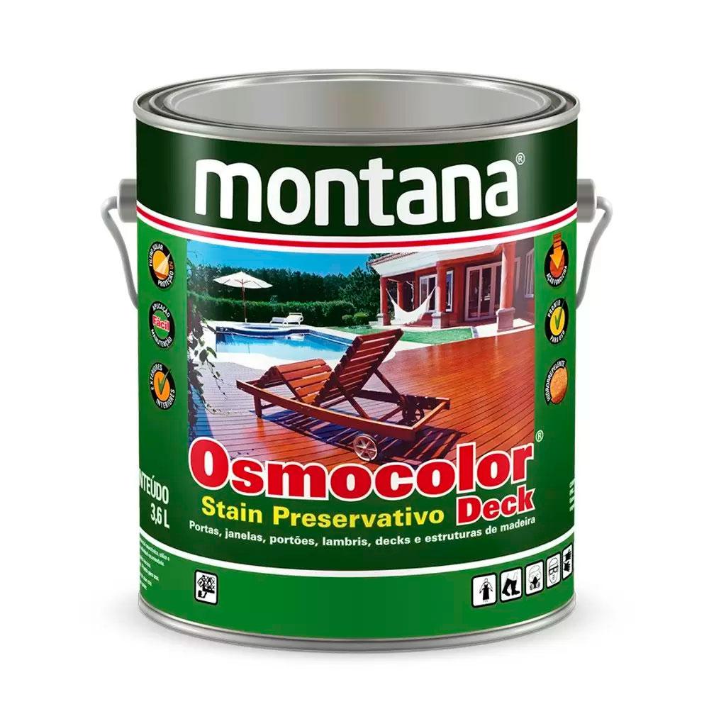 Osmocolor Stein Castanho Uv Deck 0,9L - Montana