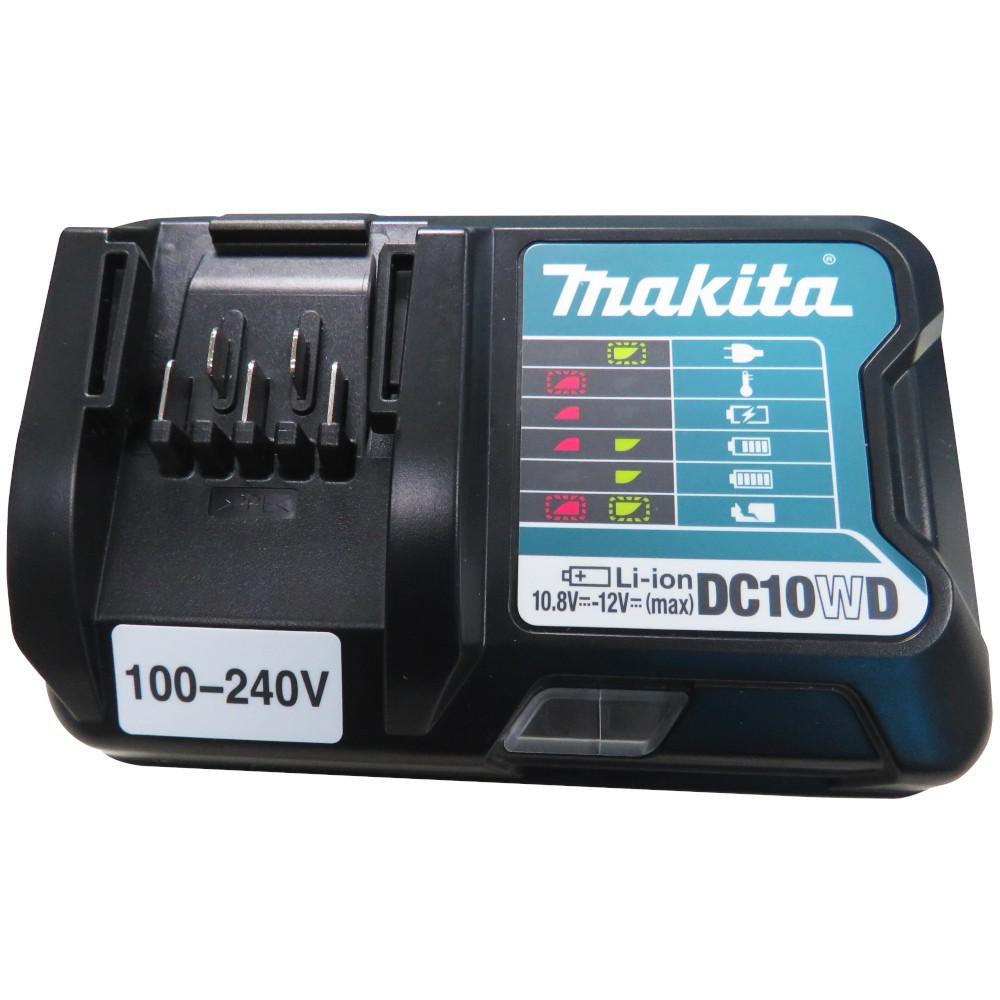 """Parafusadeira de Impacto 1/4"""" com 2 Baterias 12V e Maleta TD110DWYE - MAKITA"""