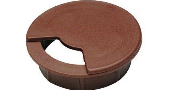 Passa Fio 15x60mm Marrom (10 peças) - Bigfer
