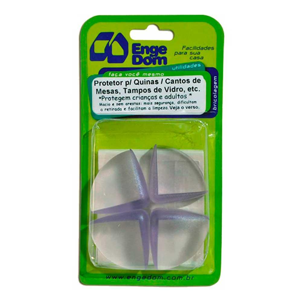 Protetor de Quinas e Cantos 1,7cm (4 Pçs) - Engedom