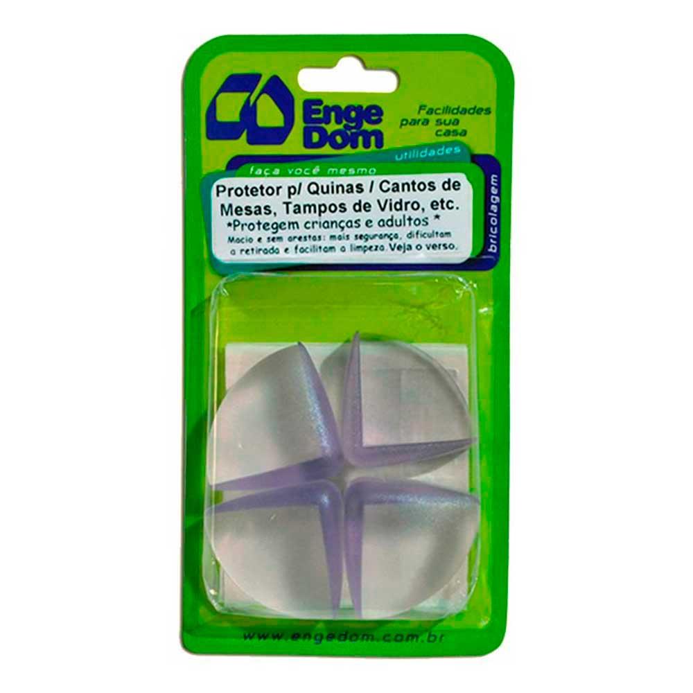 Protetor de Quinas e Cantos 1cm (4 Pçs) - Engedom