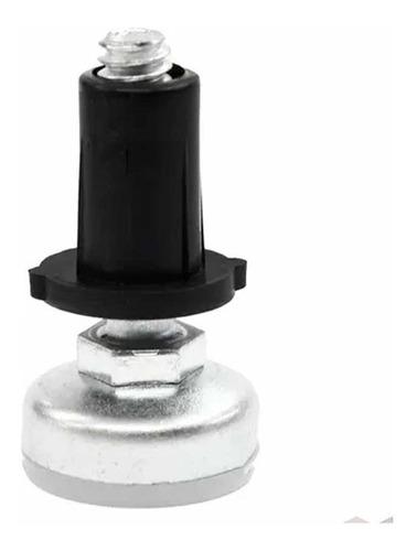 Sapata Niveladora Metal C/ Bucha 1/4x1 10mm - 20 Peças