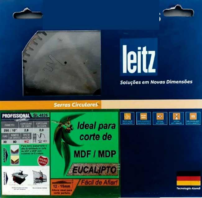 Serra HW 250x3,2/2,6x30 Z80 WZ 2/10/60; 2/9/46,35 ; 2/7/42  p/ Eucalipto- Leitz