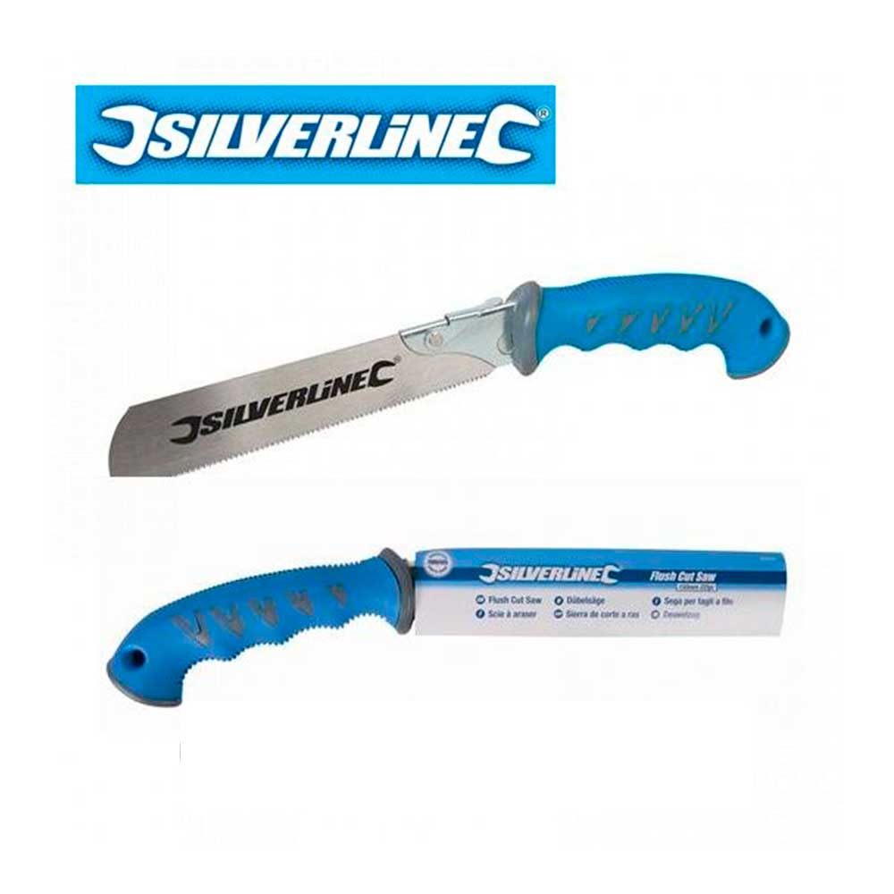 Serrote Flush Cut Saw (Tipo Japonês) - Silverline