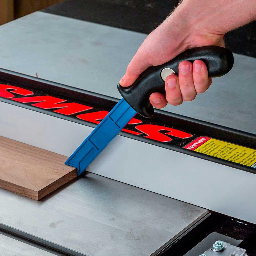 Suporte para Serra de Mesa Magnético (Plastic Magnetic Push Stick) - Rockler