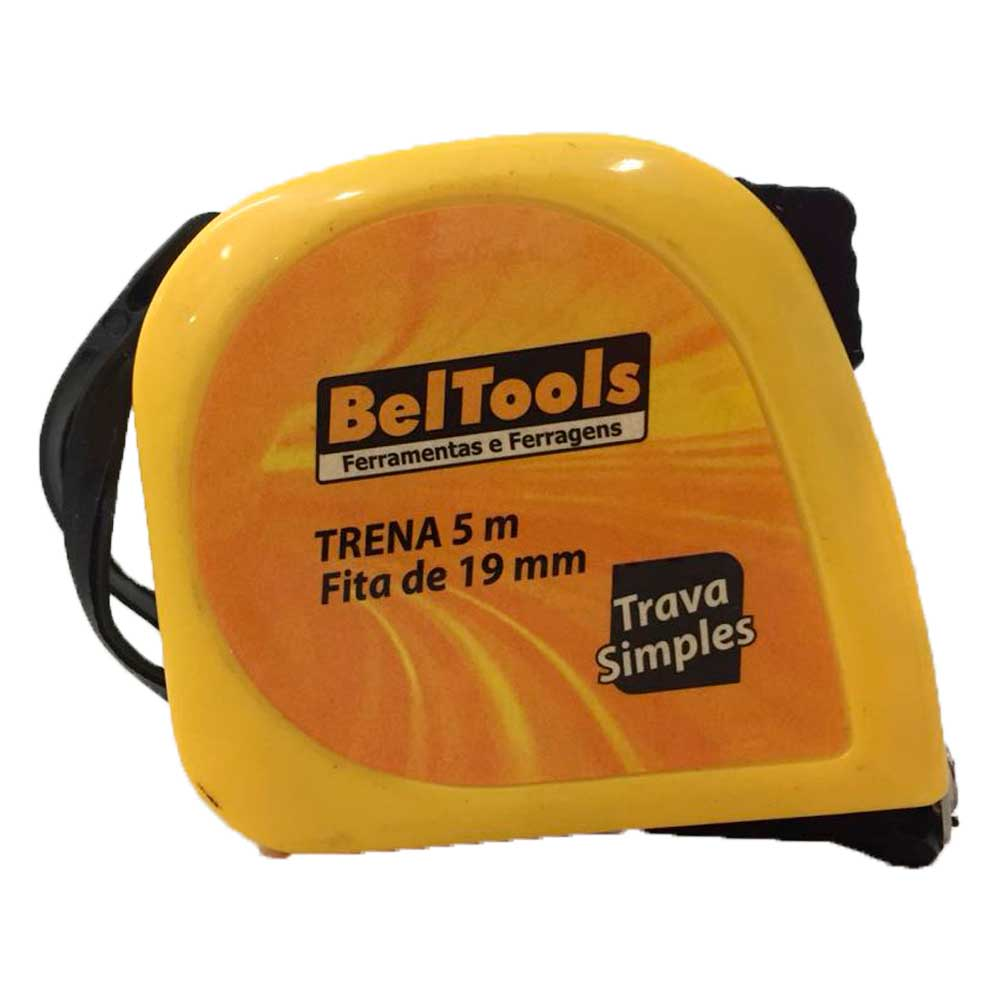 Trena Curta Simples 5m x 19mm - Beltools