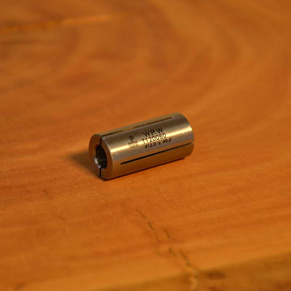 WPW - Bucha Redutora para Tupia 12mm para 6mm