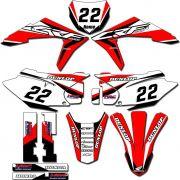 Adesivos Gráficos Crf230 2015/2019 Tanque Biker F-19 CRFB-72