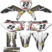 Adesivos Gráficos Crf230 2015/2019 Tanque Biker F-19 CRFB-96
