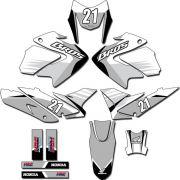 Kit adesivos Gráficos para NXR Bros 150 2009 a 2012 Modelo BROS-142B