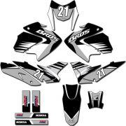 Kit adesivos Gráficos para NXR Bros 150 2009 a 2012 Modelo BROS-146B