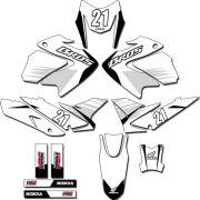 Kit adesivos Gráficos para NXR Bros 150 2009 a 2012 Modelo BROS-148B
