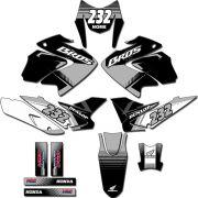 Kit adesivos Gráficos para NXR Bros 150 2009 a 2012 Modelo BROS-155B