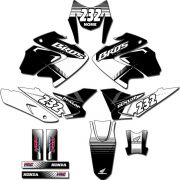 Kit adesivos Gráficos para NXR Bros 150 2009 a 2012 Modelo BROS-156B