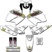 Kit adesivos Gráficos para NXR Bros 150 2009 a 2012 Modelo BROS-161B