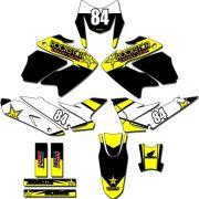 Kit adesivos Gráficos para NXR Bros 150 2009 a 2012 Modelo BROS-165B