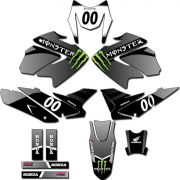Kit adesivos Gráficos para NXR Bros 150 2009 a 2012 Modelo BROS-167B