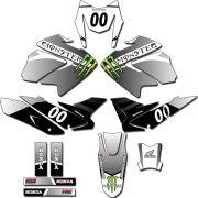 Kit adesivos Gráficos para NXR Bros 150 2009 a 2012 Modelo BROS-168B