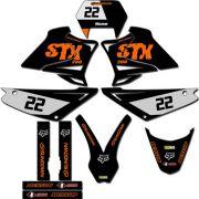 Kit adesivos Gráficos para STX-200 Modelo STX-112