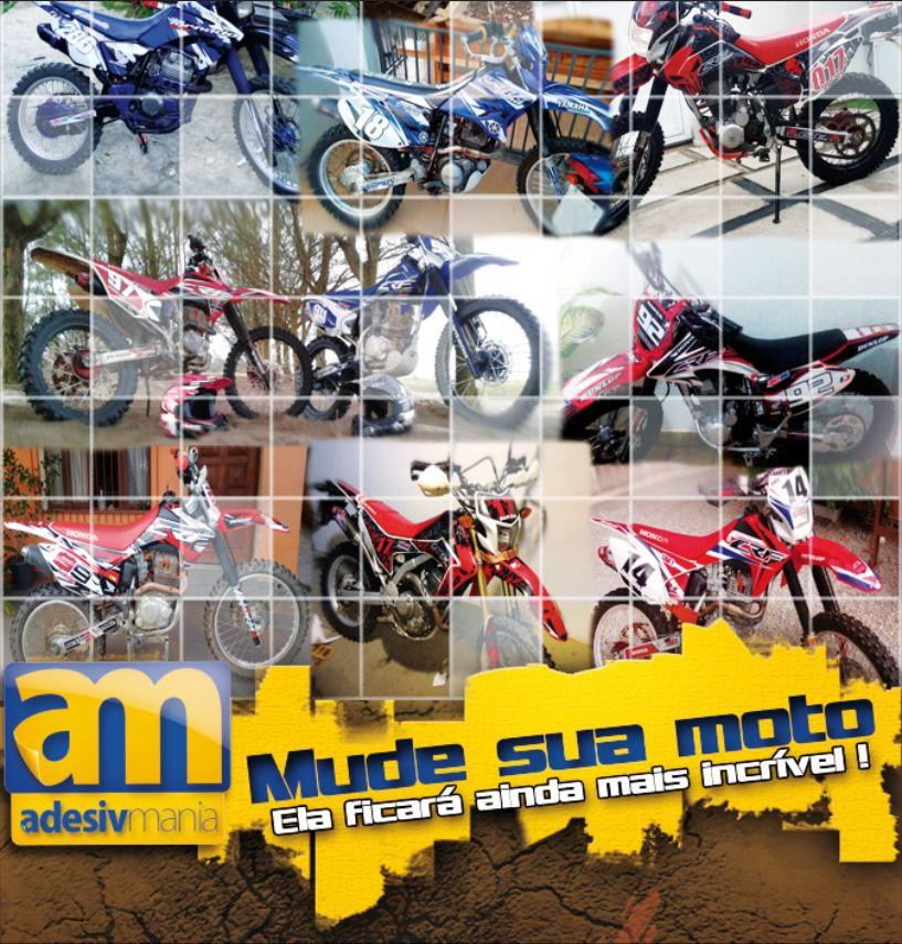 Kit adesivos Gráficos para CRF-230 2015 a 2019 Modelo CRFM-100