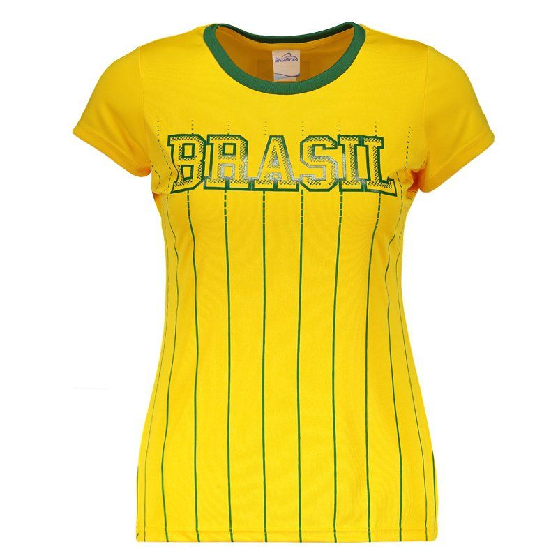 Camisa Brasil I 2018 Feminina