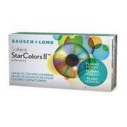 BAUSCH LOMB SOFLENS STAR COLORS II (Planas ou seja sem grau)