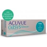 Lentes de Contato Acuvue Oasys 1 Day com Hrydraluxe ( Lente de Silicone de Hidrogel)