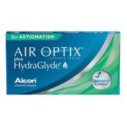 Air Optix Plus Hydraglyde para Astigmatismo - Lentes de Contato  (Caixa com 6 lentes do mesmo grau)