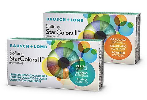 BAUSCH LOMB SOFLENS STAR COLORS II - Valor referente a uma caixa com uma  lente ... 18d91da7e4