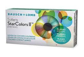 BAUSCH LOMB SOFLENS STAR COLORS II - Valor referente a uma caixa com uma lente  - Lentes de Contato MAF