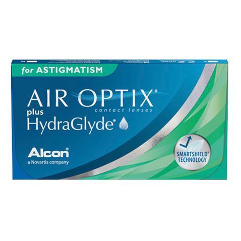 Air Optix Plus Hydraglyde para Astigmatismo - Lentes de Contato  (Caixa com 6 lentes do mesmo grau)  - Lentes de Contato MAF