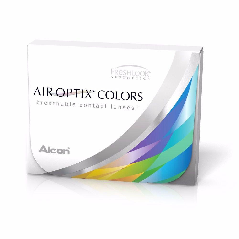 LENTES DE CONTATO AIR OPTIX COLORS ( Um par da mesma cor e grau)  - Lentes de Contato MAF