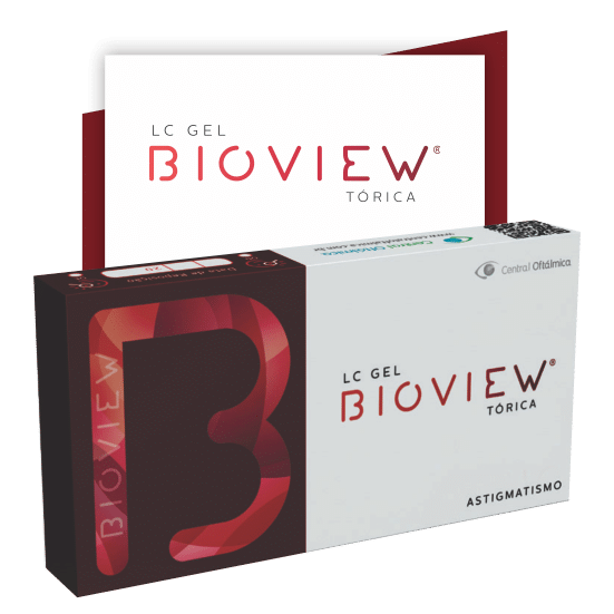 LENTES DE CONTATO BIOVIEW TORICA  (Caixa com 6 lentes)  - Lentes de Contato MAF