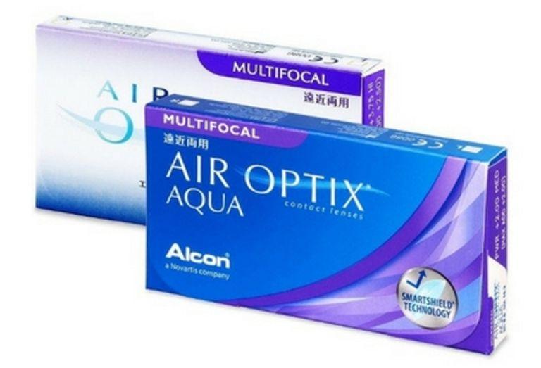LENTES DE CONTATO MULTIFOCAL AIR OPTIX AQUA ALCON   - Lentes de Contato MAF