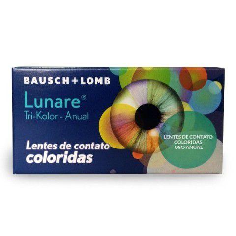 LUNARE TRI KOLOR ANUAL - COM GRAU  BLISTER COM 1 LENTE  - Lentes de Contato MAF