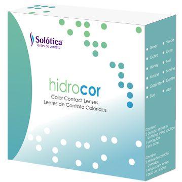 SOLOTICA HIDROCOR - SEM GRAU (Valor referente ao kit com duas lentes do mesma cor)  - Lentes de Contato MAF