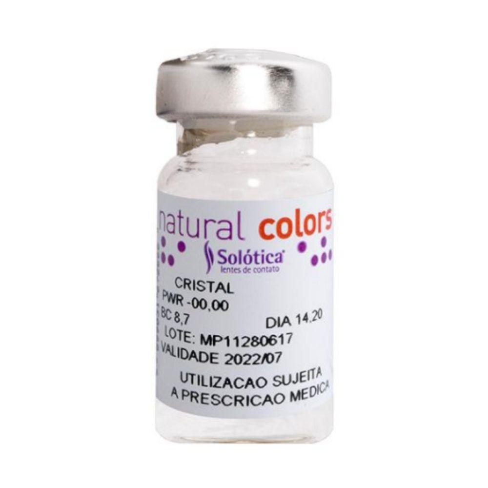 SOLÓTICA NATURAL COLORS - Uso Anual (Valor referente ao kit duas lentes da mesma cor)  - Lentes de Contato MAF