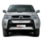 OVER BUMPER FRONT BUMPER TOYOTA HILUX CABINE DUPLA 2009 10 11