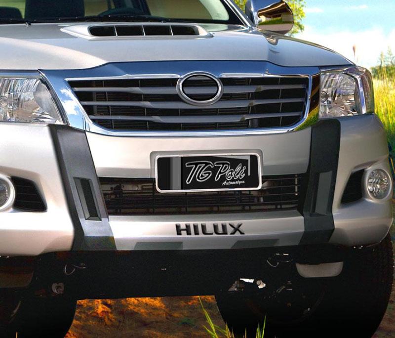 OVER BUMPER FRONT BUMPER TOYOTA HILUX 2012 13 14 15