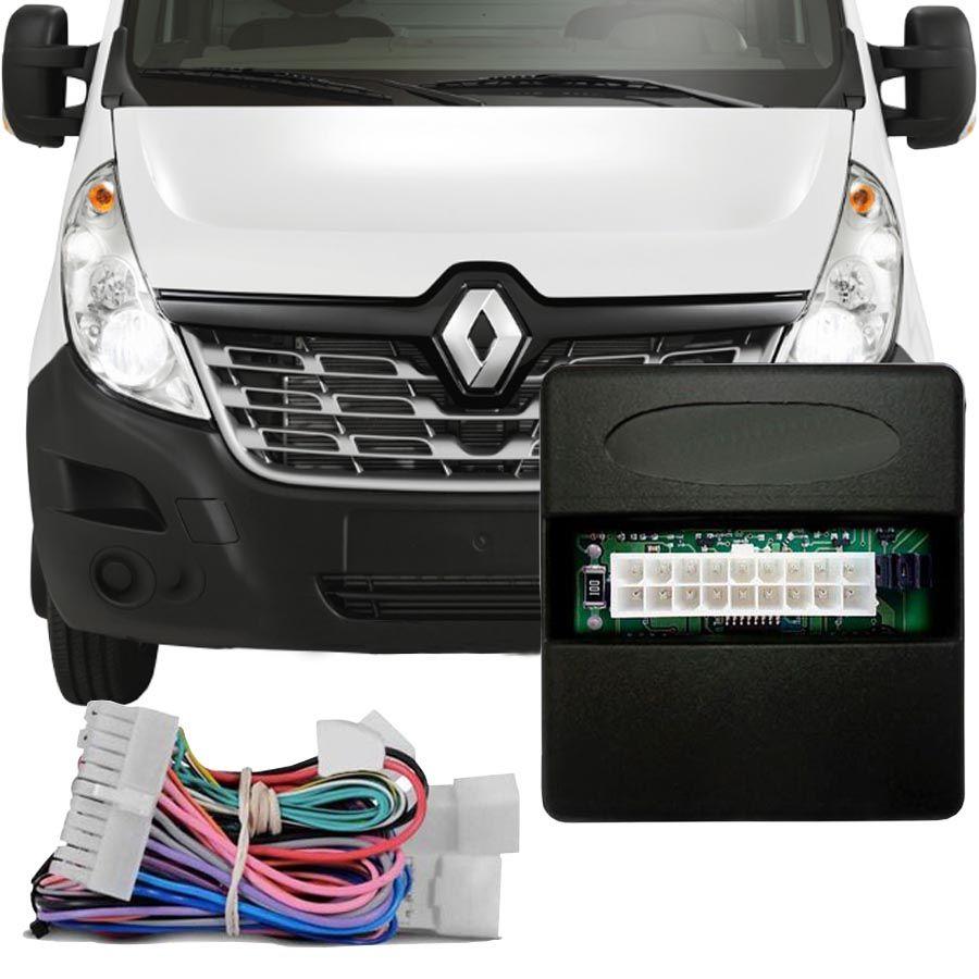 Módulo de Vidro Antiesmagamento Renault Master 2014 Em Diante