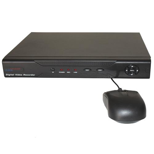 Stand alone DVR HVR NVR para até 08 câmeras de segurança ...