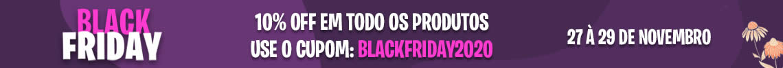 black friday 2020 - cupom: blackfriday2020