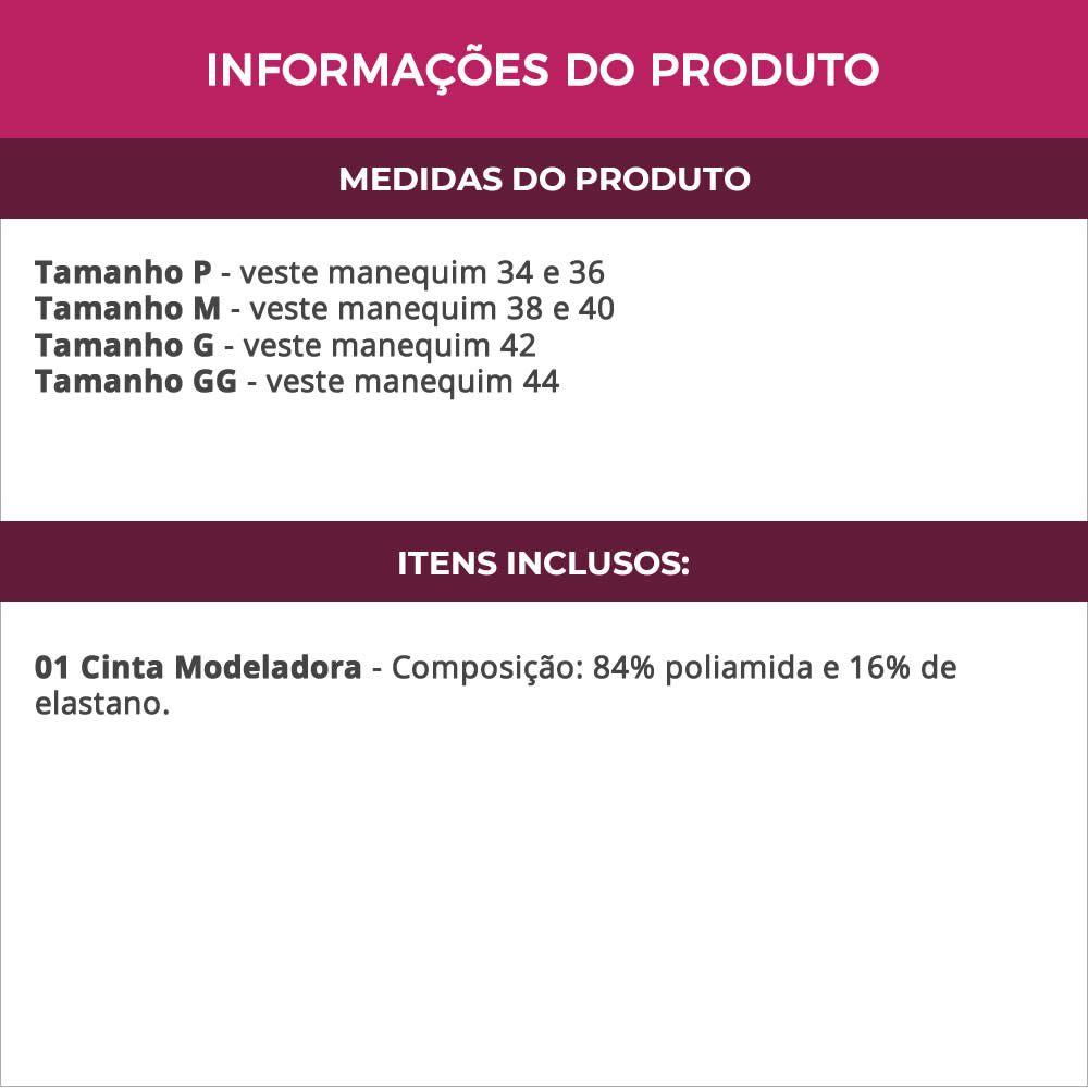 Cinta Modeladora Abdominal Pós-Cirúrgica - CL1413