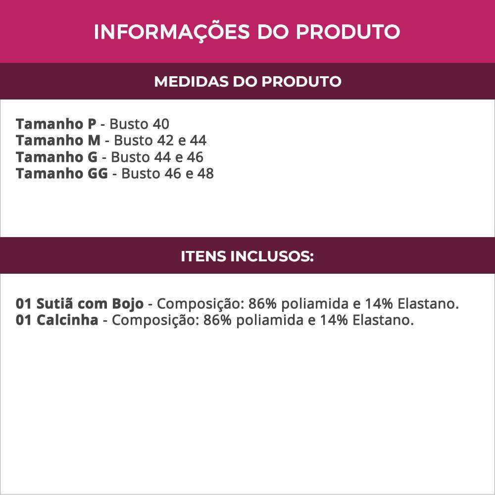 Conjunto de Lingerie Vermelho em Renda com Colar e Bojo - DR173