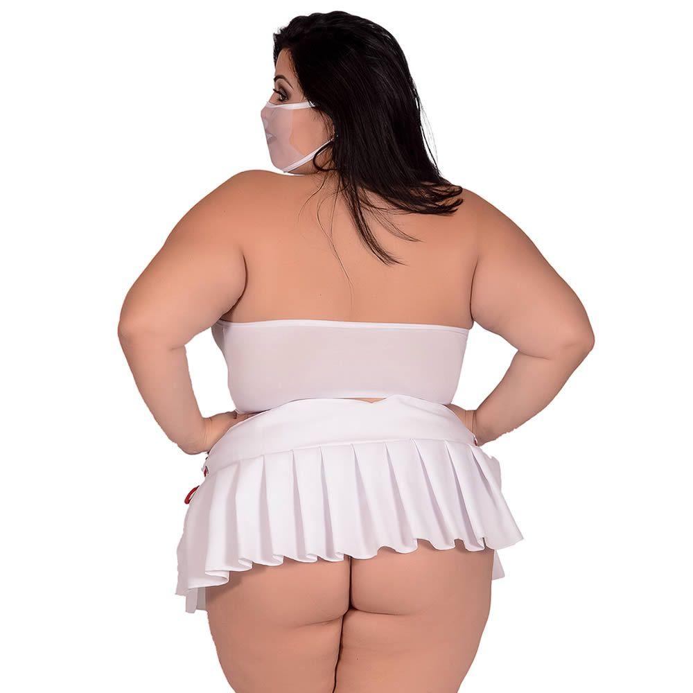 Fantasia Erótica Plus Size Doutora Sensual - EK2076